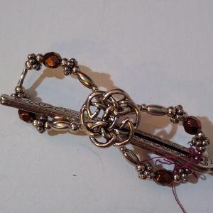 Flexi Celtic Knot Silver Bronze Small Lilla Rose